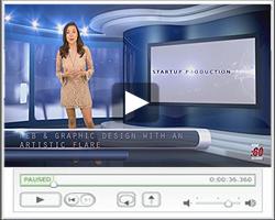video news desk samples