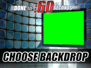 video virtual set background