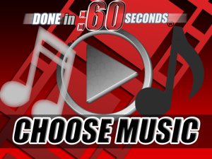 web video presentation music