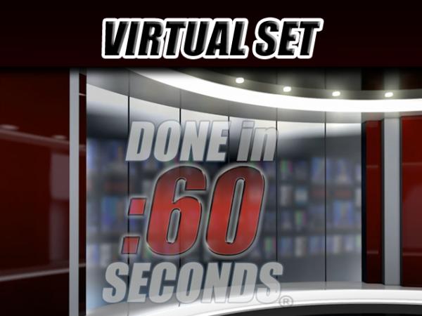 Virtual Set: Live News