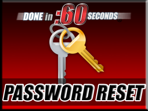 Professional Video Marketing Services Password Reset