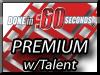 Video Presentation Actors – Premium :60