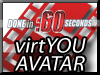 3D virtual character avatar video presentations