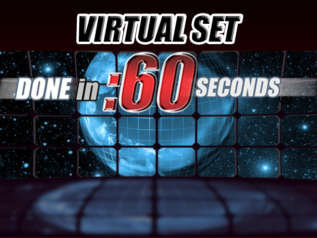 virtual set earth looping