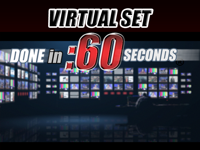 Virtual Set: News Room