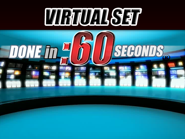 Virtual Set: TV Screens