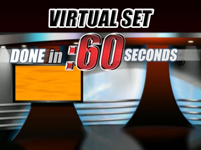 Virtual Set: World News
